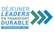 Déjeuner Leaders en transport durable: Les gagnants 2017